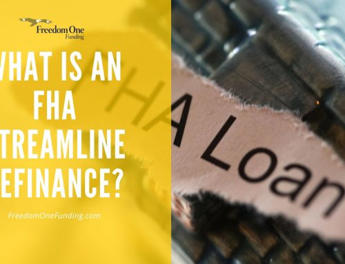 What is an FHA Streamline Refinance?